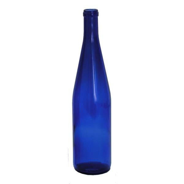 Bottle - 750mL Cobalt Hock
