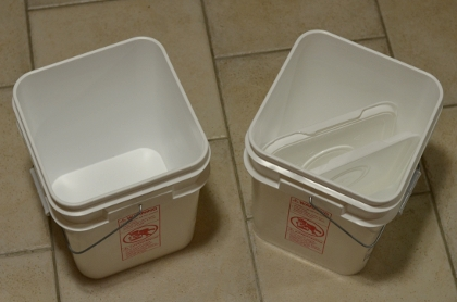 Primary Fermenter (Square Bucket), 15L with Lid