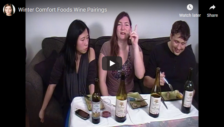 Winter Comfort Foods Wine Pairings
