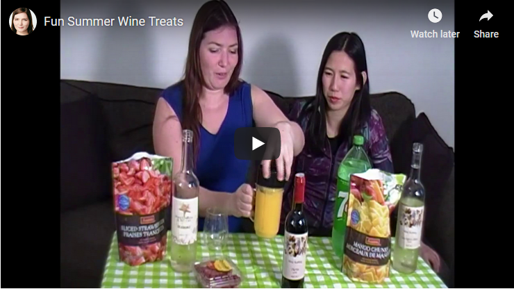Fun Summer Wine Treats